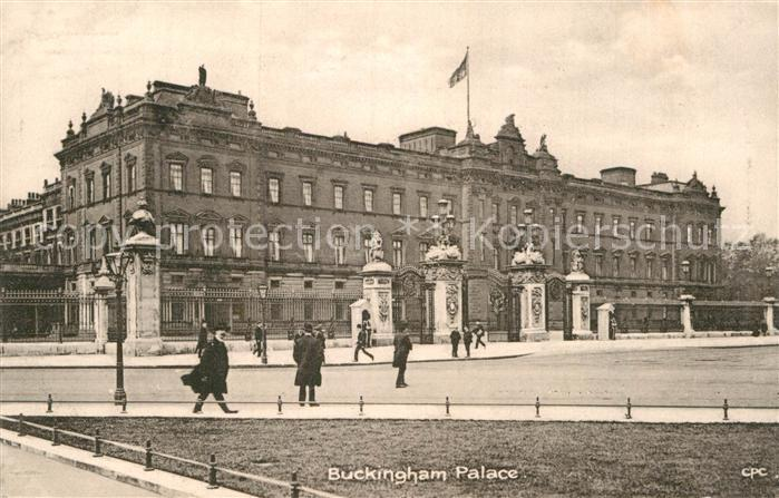 AK / Ansichtskarte London Buckingham Palace Kat. City of London