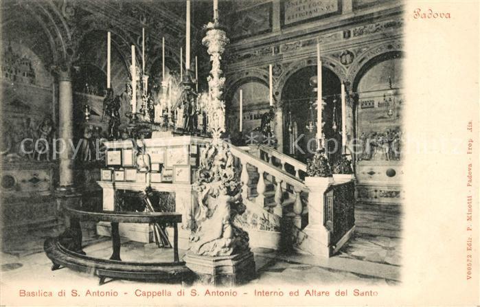 AK / Ansichtskarte S Antonio di Odalengo Basilica Altarraum