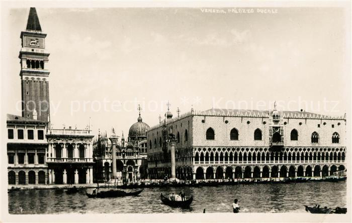 AK / Ansichtskarte Venezia Venedig Palazzo Ducale San Marco Kat.