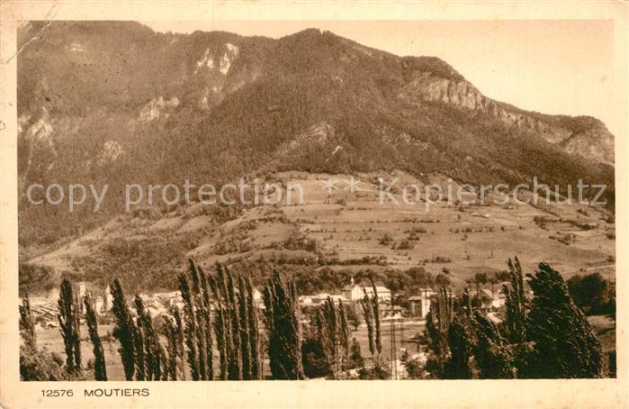 AK / Ansichtskarte Moutiers d Albertville  Kat. Moutiers