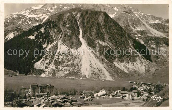 AK / Ansichtskarte Pralognan la Vanoise Roc de Plassas  Kat. Pralognan la Vanoise