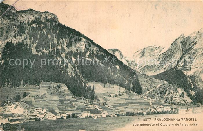AK / Ansichtskarte Pralognan la Vanoise et Glaciers de la Vanoise Kat. Pralognan la Vanoise