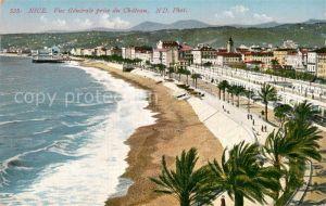 AK / Ansichtskarte Nice Alpes Maritimes Vue Generale prise du Chateau Kat. Nice