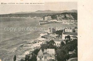 AK / Ansichtskarte Nice Alpes Maritimes Entree du Port vue de Mont Boron Kat. Nice