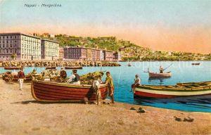 AK / Ansichtskarte Napoli Neapel Mergellina  Kat. Napoli