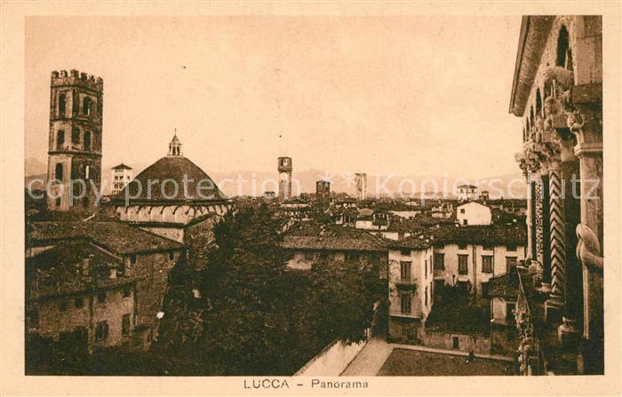 AK / Ansichtskarte Lucca Panorama Kat. Lucca