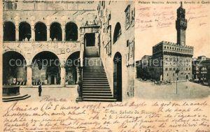 AK / Ansichtskarte Firenze Toscana Palazzo Podesta Palazzo Vecchio Kat. Firenze