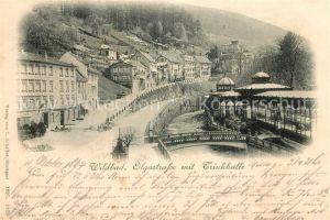 AK / Ansichtskarte Wildbad Schwarzwald Olgastrasse Trinkhalle Kat. Bad Wildbad