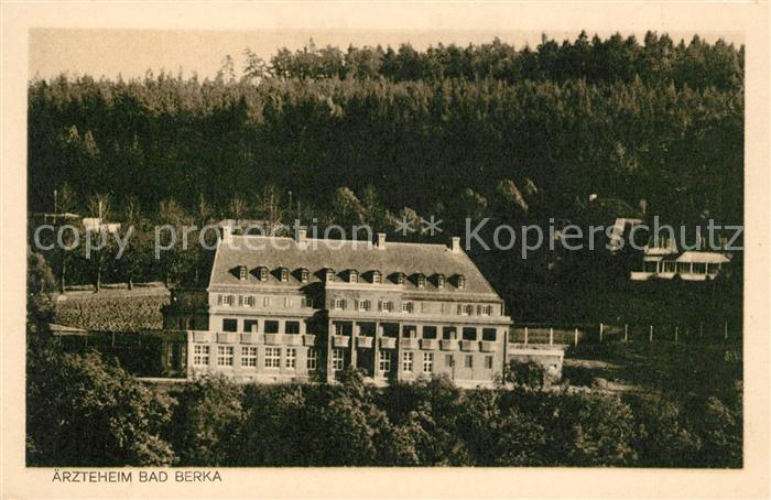 AK / Ansichtskarte Bad Berka aerzteheim Kat. Bad Berka