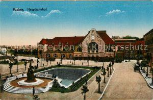 AK / Ansichtskarte Aachen Hauptbahnhof Kat. Aachen