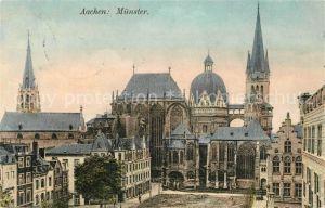 AK / Ansichtskarte Aachen Muenster Kat. Aachen