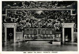 AK / Ansichtskarte Venezia Venedig Palazzo Ducale Tintoretto Paradiso Kat.