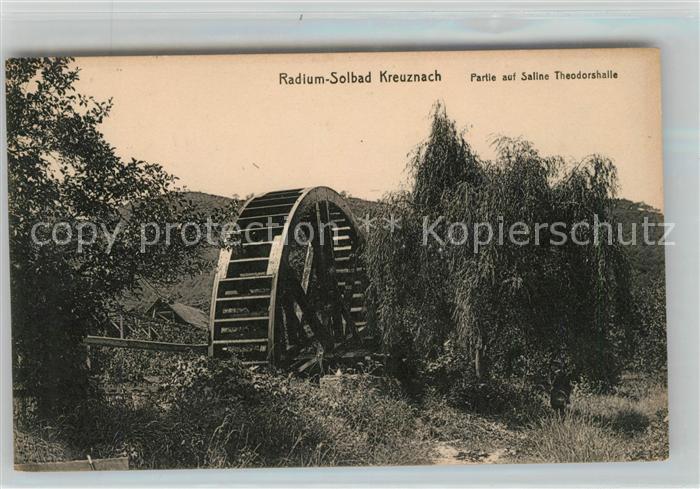 AK / Ansichtskarte Kreuznach Bad Saline Theodorshalle Kat. Bad Kreuznach
