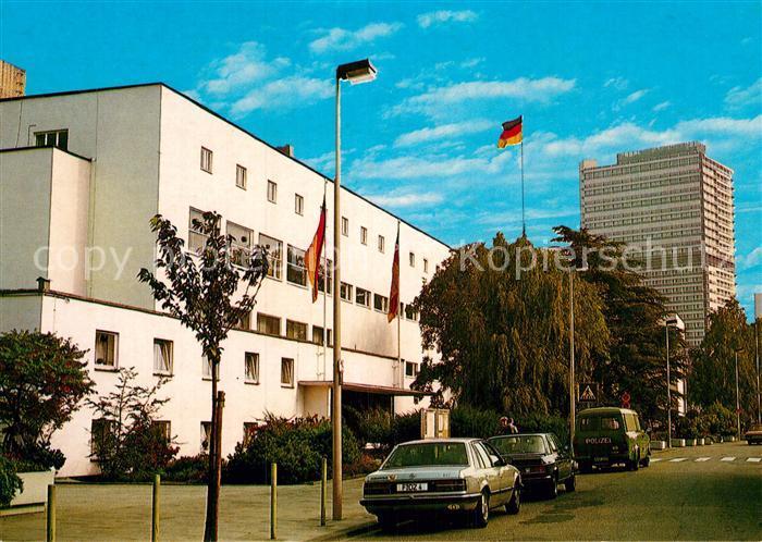 AK / Ansichtskarte Bonn Rhein Bundeshaus mit Abgeordneten Hochhaus Kat. Bonn