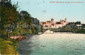 AK / Ansichtskarte Bernburg Saale Schloss vom Kesselbusch Kat. Bernburg