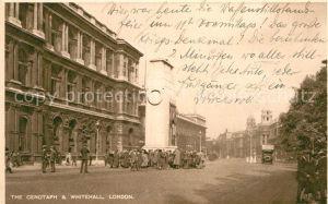 AK / Ansichtskarte London The Cenotaph and Whitehall Kat. City of London