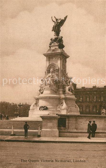 AK / Ansichtskarte London Queen Victoria Memorial Kat. City of London
