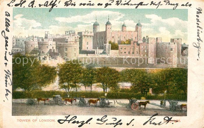 AK / Ansichtskarte London Tower of London Kat. City of London