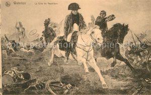 AK / Ansichtskarte Napoleon Bonaparte Waterloo Fuite  Kat. Persoenlichkeiten