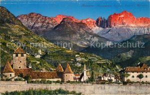 AK / Ansichtskarte Bolzano Passeggiata Talucra Castello Mareccio Kat. Bolzano