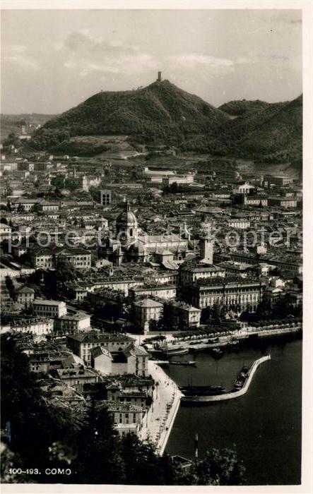 AK / Ansichtskarte Como Lago di Como Panorama