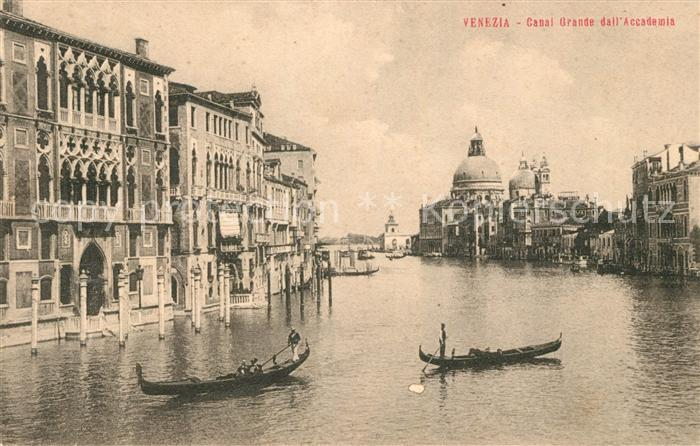 AK / Ansichtskarte Venezia Venedig Canal Grande Accademia Kat.