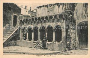 AK / Ansichtskarte Isernia Fontana Fraterna