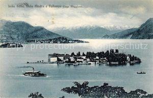 AK / Ansichtskarte Isola Bella Lago Maggiore Isola Madre Pallanza