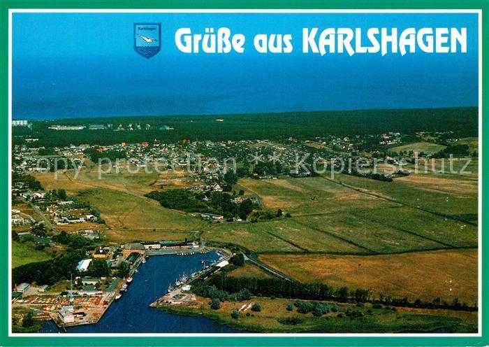 AK / Ansichtskarte Karlshagen Fliegeraufnahme Kat. Karlshagen Usedom