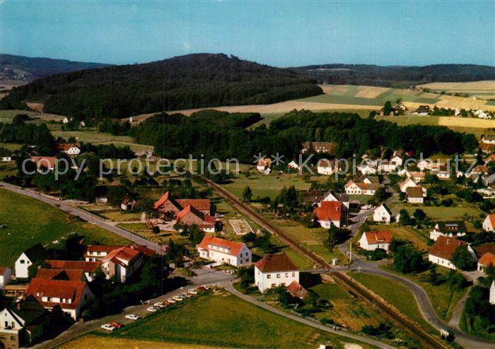 Ak Ansichtskarte Bad Holzhausen Luebbecke Fliegeraufnahme Kat