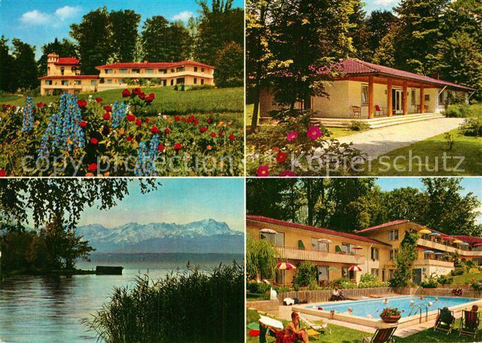 AK / Ansichtskarte Ambach Starnbergersee Sanatorium Dr Wiedemann ...