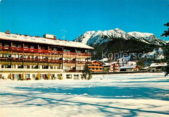 AK / Ansichtskarte Oberstdorf Hotel garni Kappeler Haus Kat. Oberstdorf