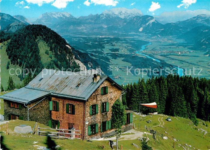 AK / Ansichtskarte Bayreutherhuette im Unterinntal mit Kaisergebirge Kat. Kramsach