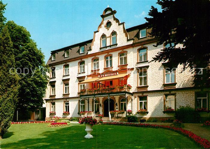 AK / Ansichtskarte Bad Salzschlirf Sanatorium Wuesthofen Kat. Bad Salzschlirf