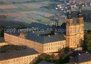 AK / Ansichtskarte Banz Bad Staffelstein Kloster Banz Fliegeraufnahme