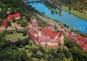 AK / Ansichtskarte Rothenfels Unterfranken Burg Rothenfels Fliegeraufnahme Kat. Rothenfels