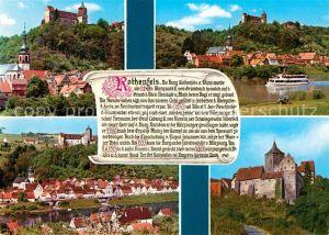 AK / Ansichtskarte Rothenfels Unterfranken Burg Rothenfels Partie am Main Teilansichten Kat. Rothenfels