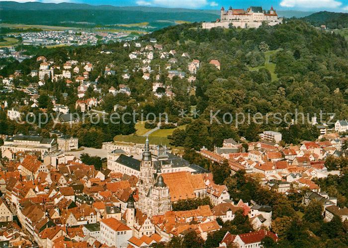 AK / Ansichtskarte Coburg Fliegeraufnahme mit Festung Coburg Kat. Coburg