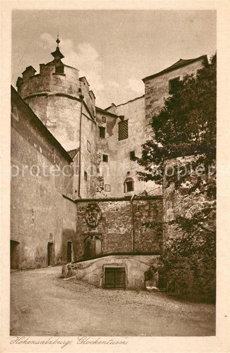 AK / Ansichtskarte Hohensalzburg Glockenturm Kat. Salzburg