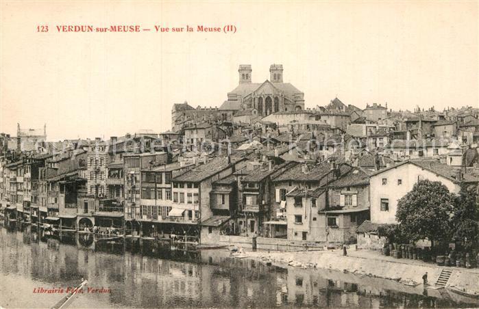 AK / Ansichtskarte Verdun Meuse Partie an der Meuse Kat. Verdun