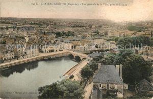 AK / Ansichtskarte Chateau Gontier vue de la Ville pris de St Jean Kat. Chateau Gontier