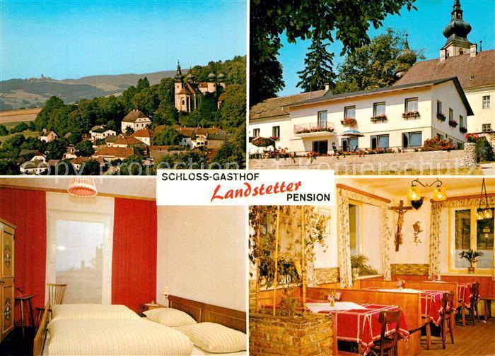AK / Ansichtskarte Artstetten Poebring Schloss Gasthof Landstetter  Kat. Artstetten Poebring