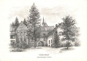 AK / Ansichtskarte Odenthal Altenberger Dom Zeichnung Kat. Odenthal