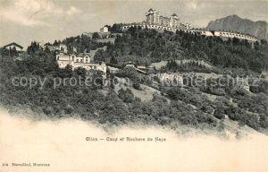 AK / Ansichtskarte Glion Caux et Rochers de Naye Kat. Glion