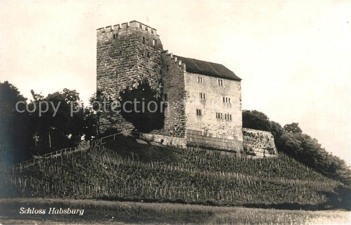 AK / Ansichtskarte Habsburg Die Habsburg Schloss Habsburg Kat. Habsburg