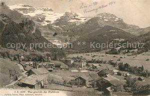 AK / Ansichtskarte Les Diablerets Vue generale Alpenpanorama