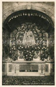 AK / Ansichtskarte Einsiedeln SZ Gnadenbild in der Gnadenkapelle Kat. Einsiedeln