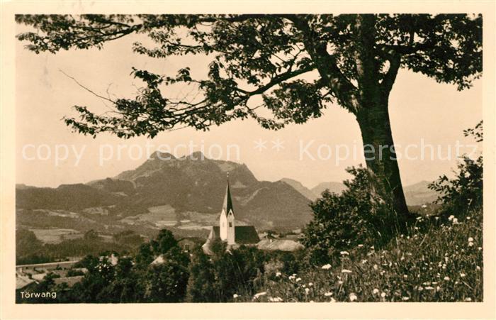 AK / Ansichtskarte Toerwang Panorama Alpen Kat. Samerberg