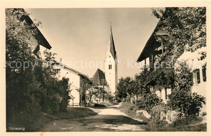 AK / Ansichtskarte Toerwang Ortspartie an der Kirche Kat. Samerberg