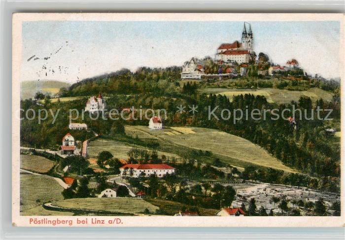 AK / Ansichtskarte Poestlingberg Schloss Panorama Kat. Linz
